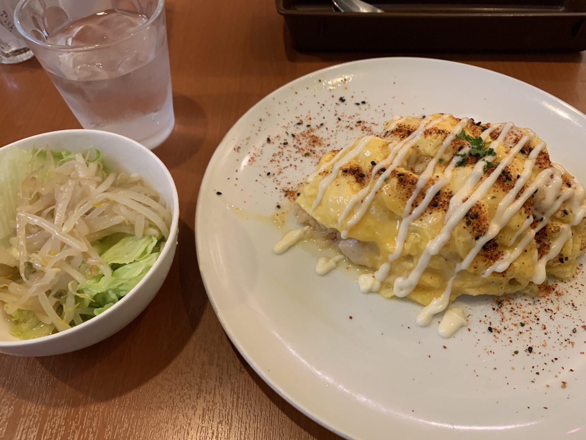 お正油オムライス@めぐろ三ツ星食堂(目黒 / 東京)