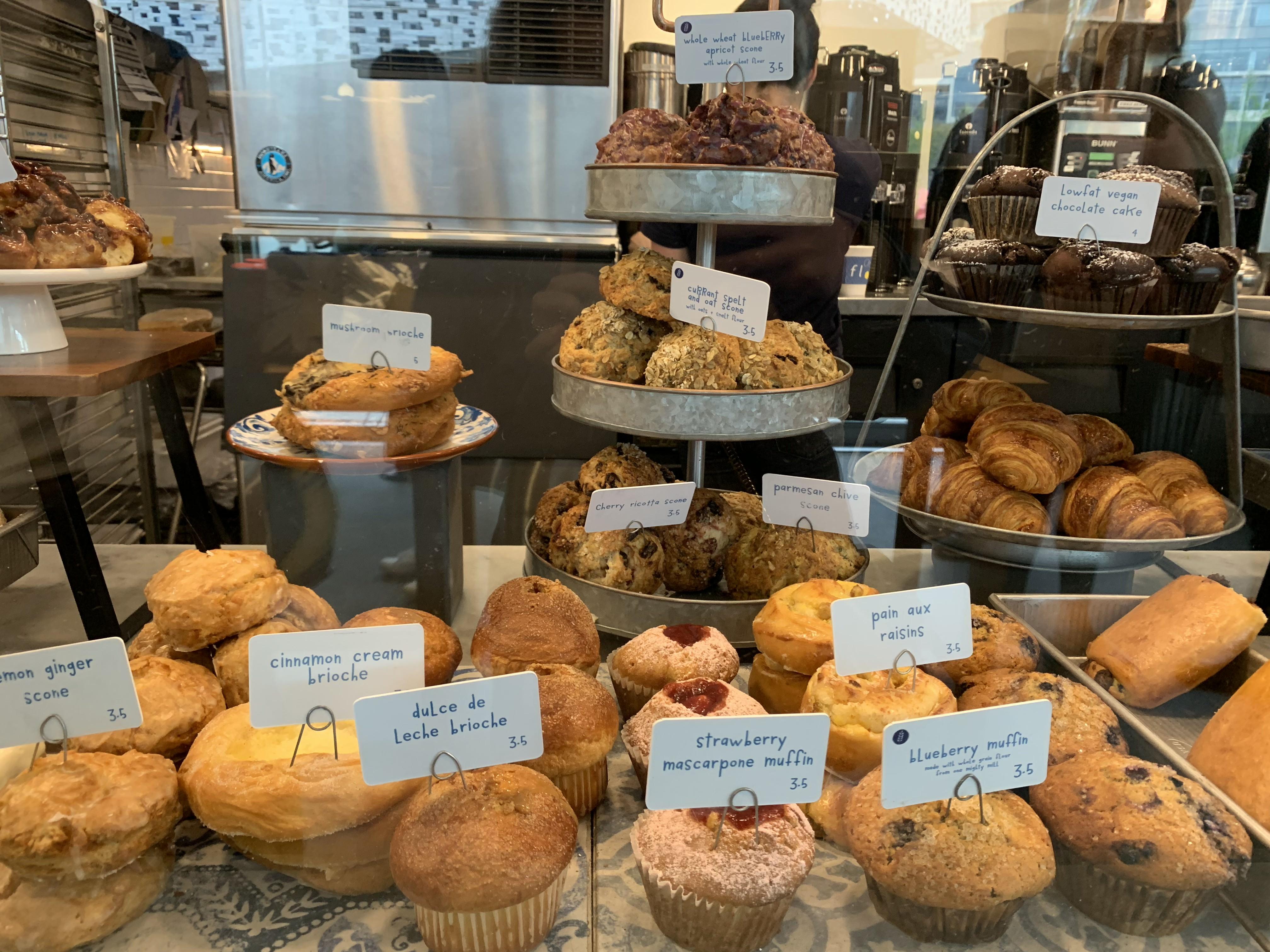 また行きたいベーカリー @ Flour Bakery + Cafe(ボストン)