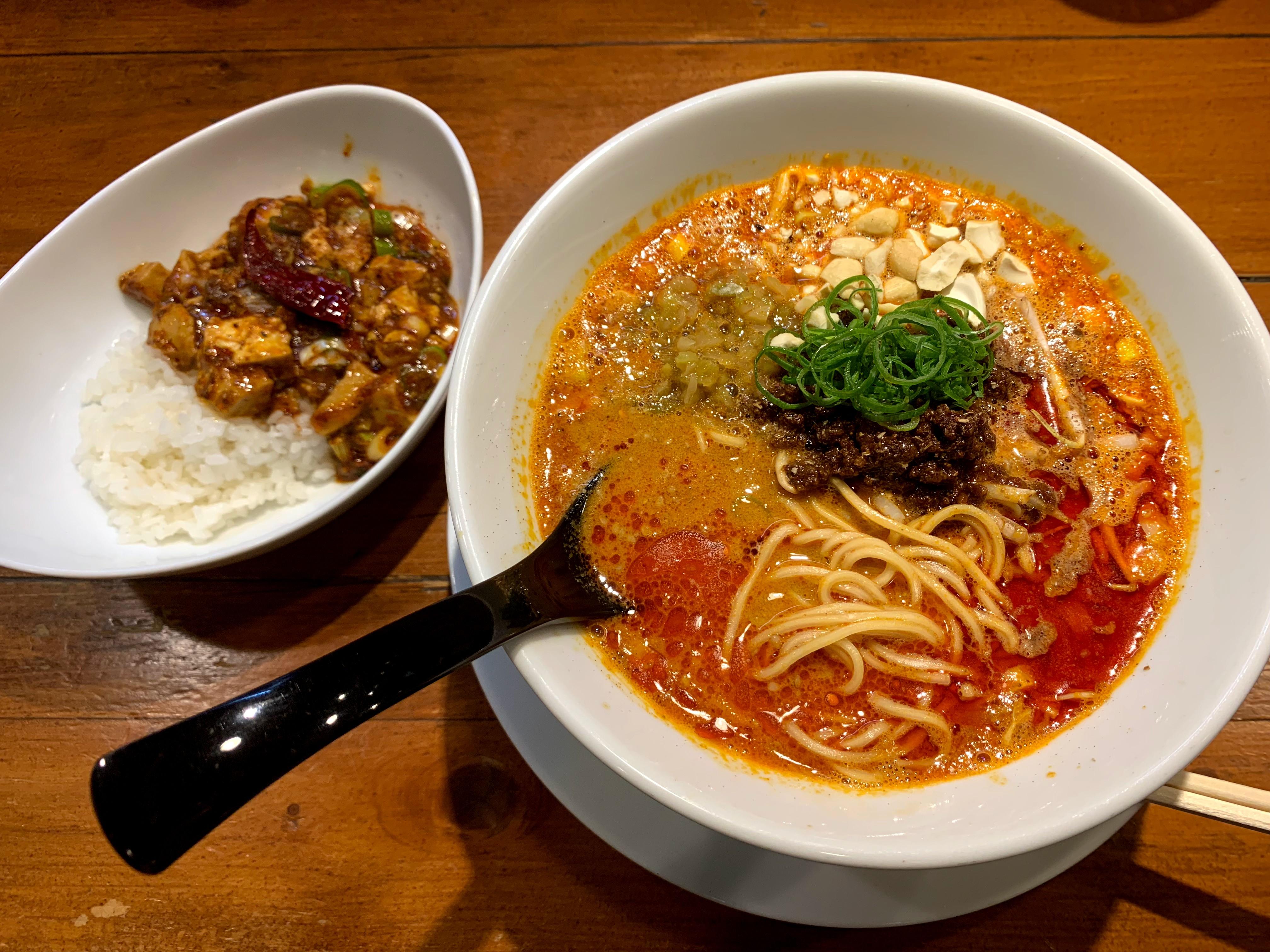 本格担々麺 @ 成都正宗 担々麺 つじ田(小川町/ 東京)