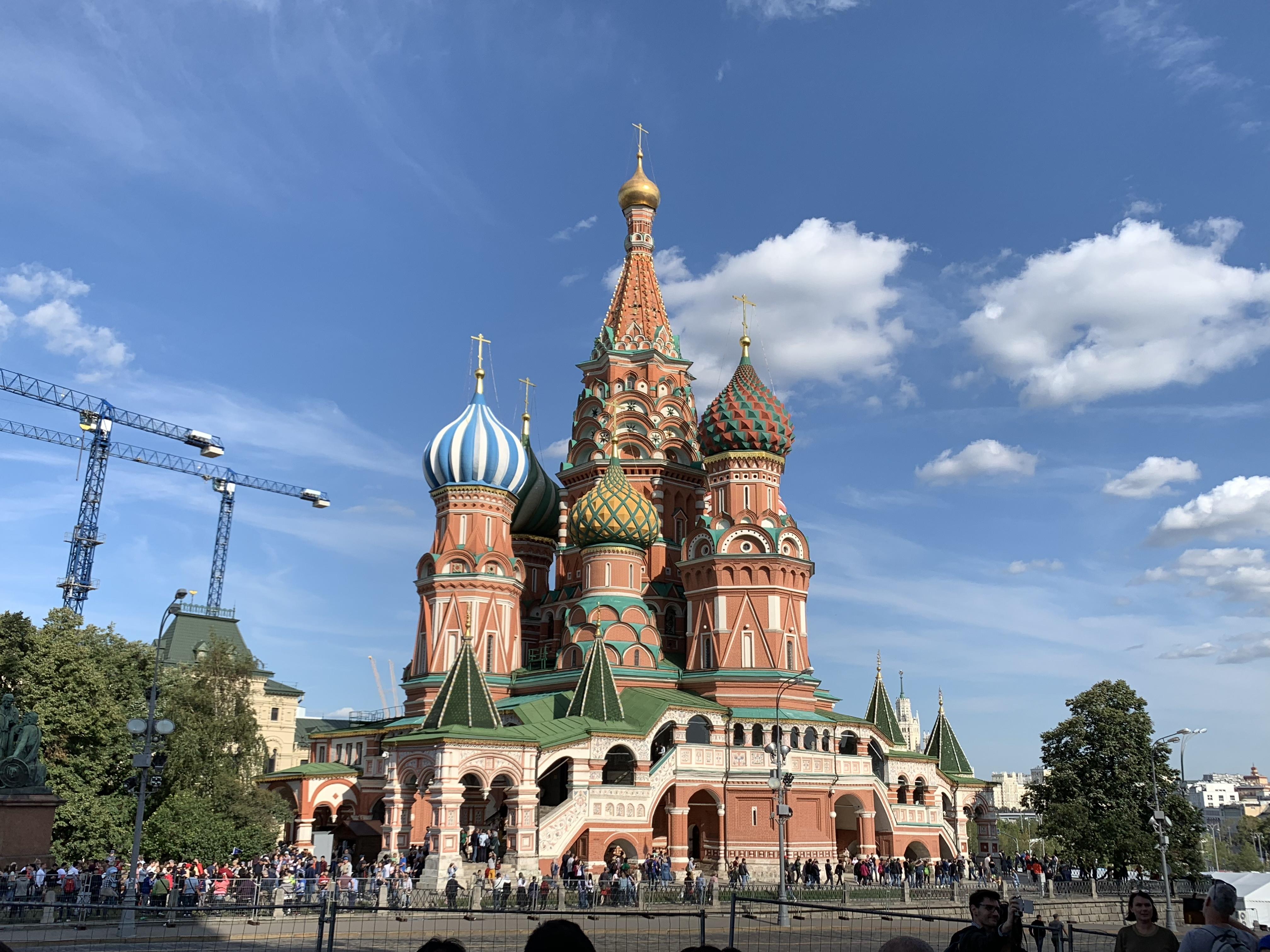 ロシア:モスクワ・サンクトペテルブルグ 女一人旅(8泊9日)