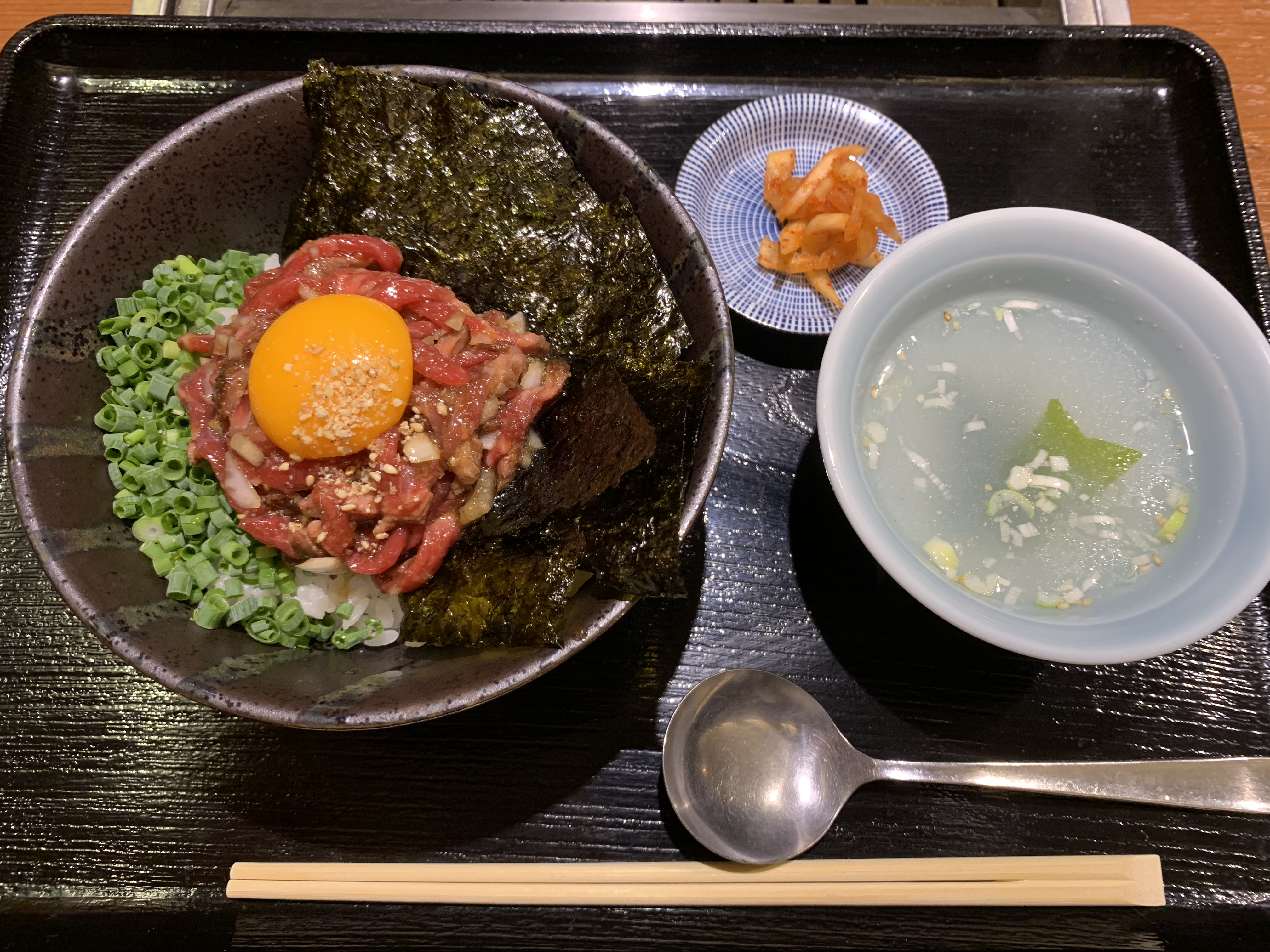 至福のランチ ローストビーフ丼 @ KAZU(神楽坂 / 東京)