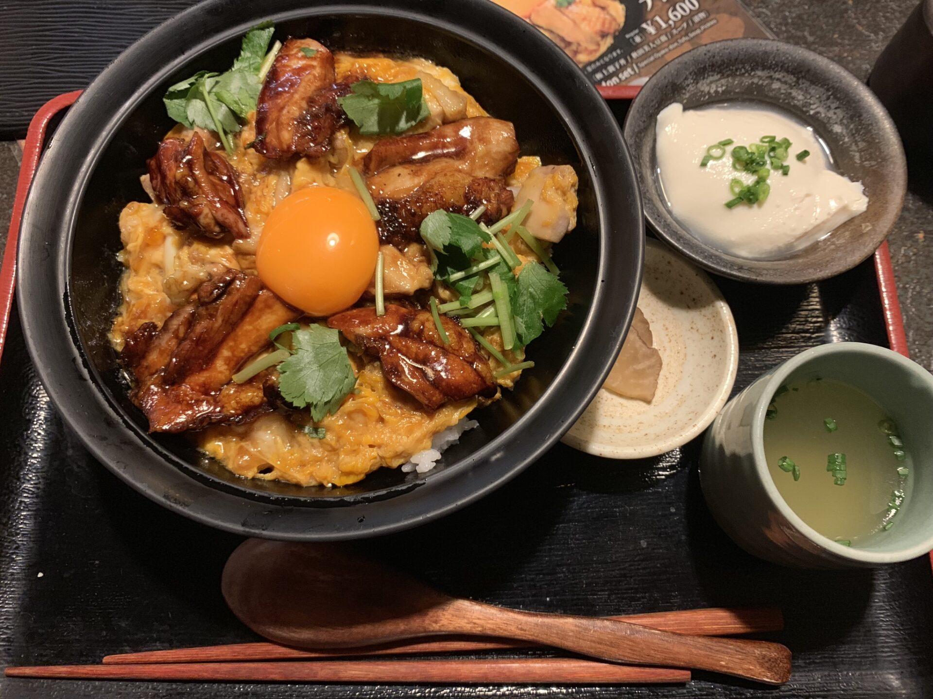 親子丼ランチ @ 本家あべや(神楽坂 / 東京)