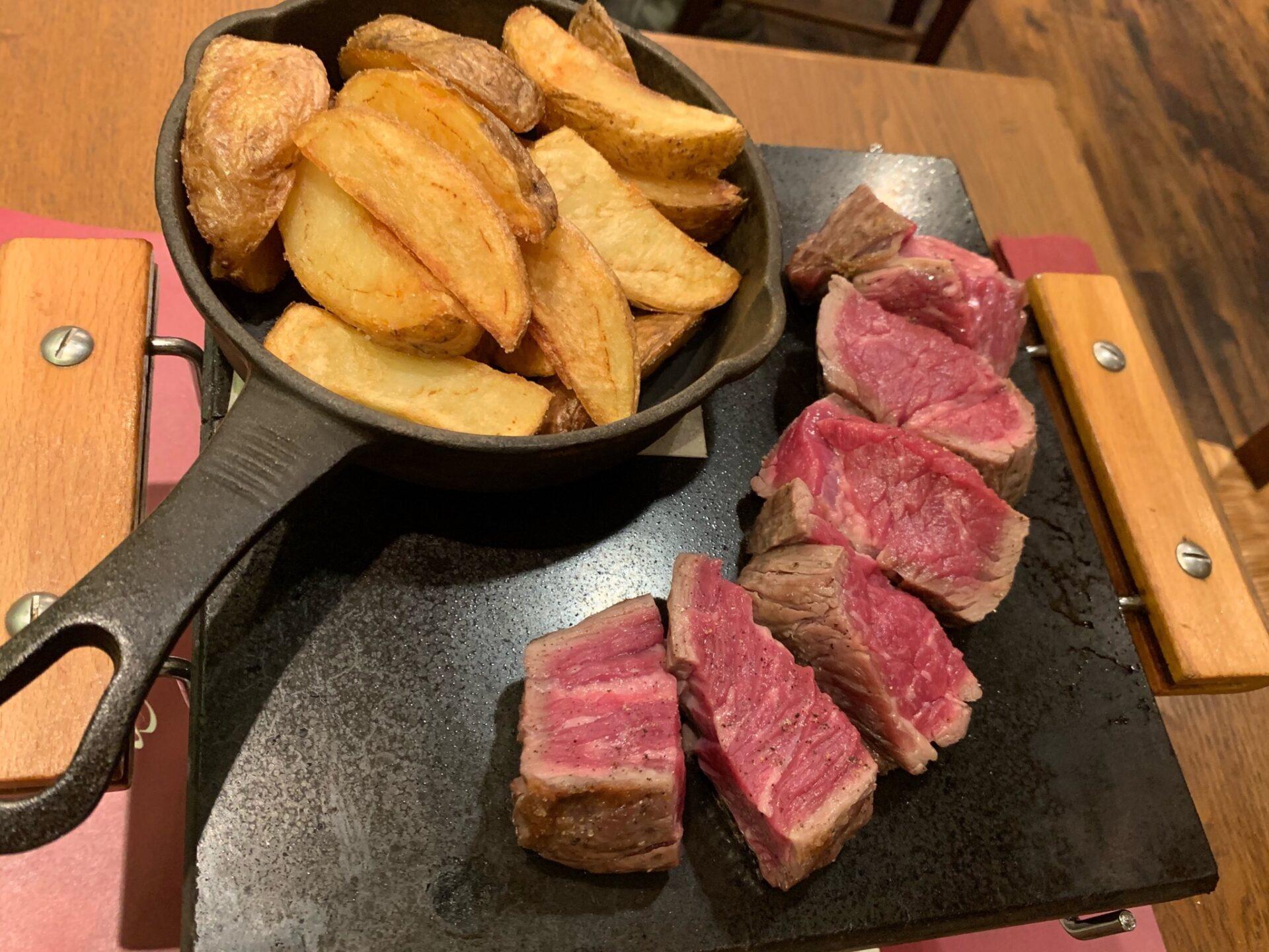 フランス名店の美味しいステーキ @ サクレフルール (神楽坂/東京)