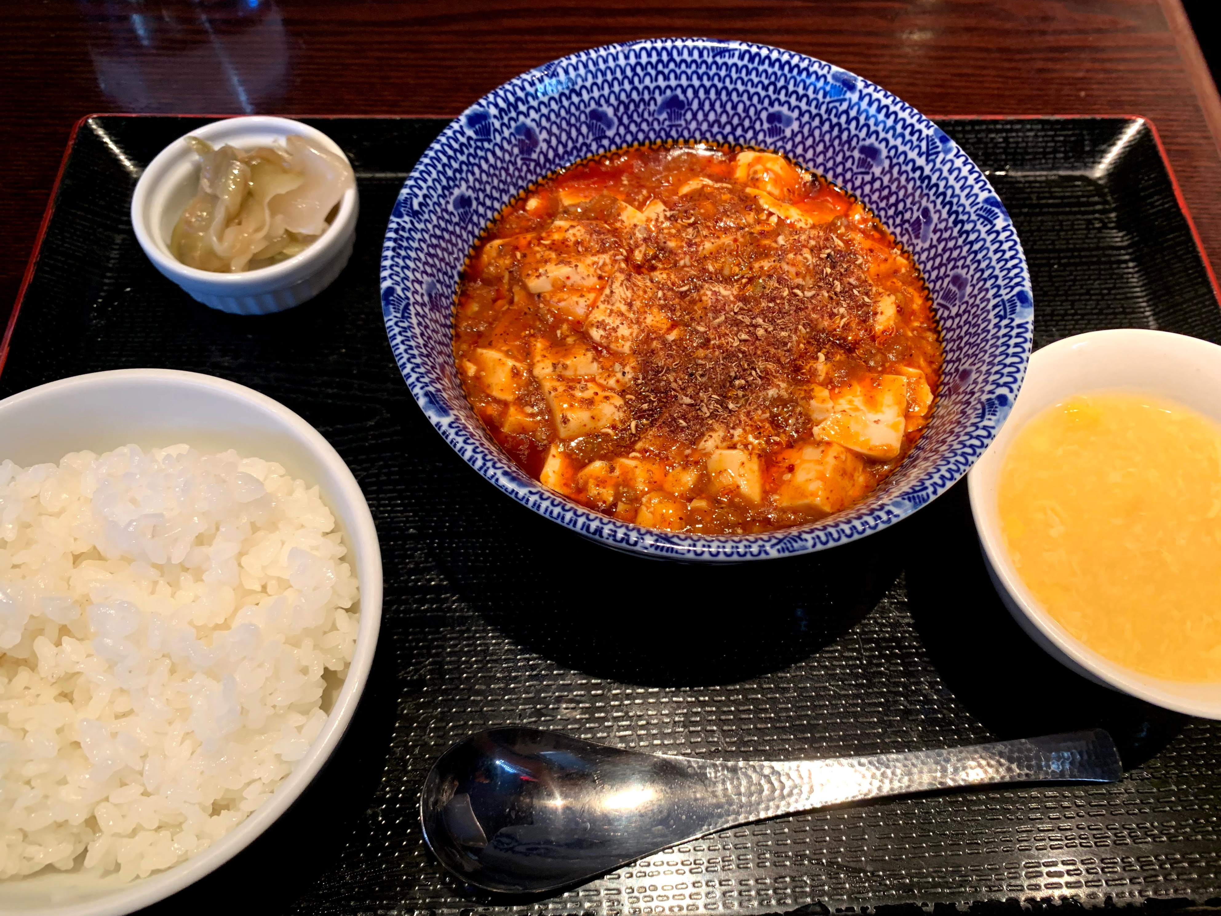 山椒が美味しい頂点麻婆豆腐 @ 芝蘭(神楽坂 / 東京)