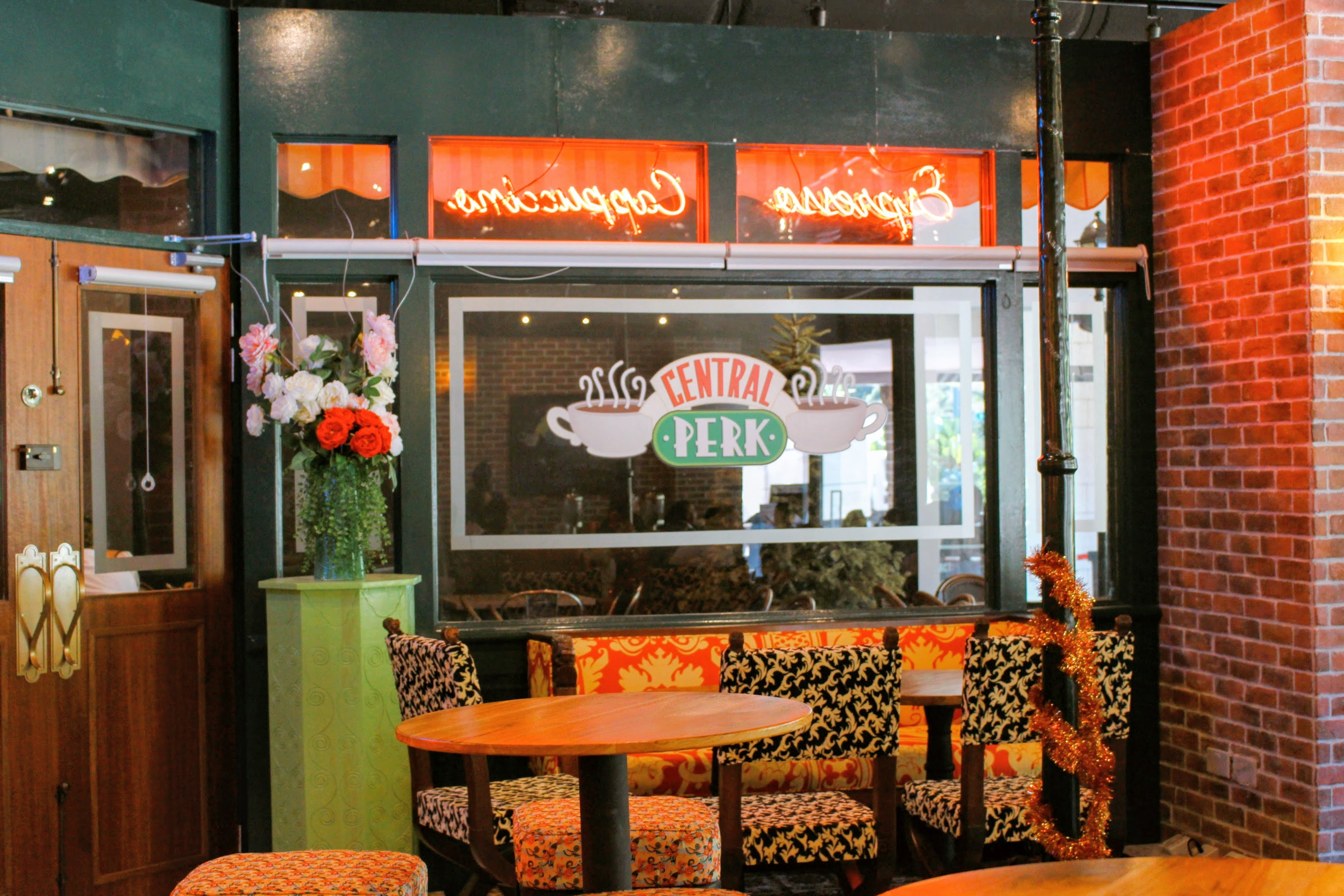 The One Where My Dream Comes True @ Central Perk Cafe(リバーサイド/シンガポール)